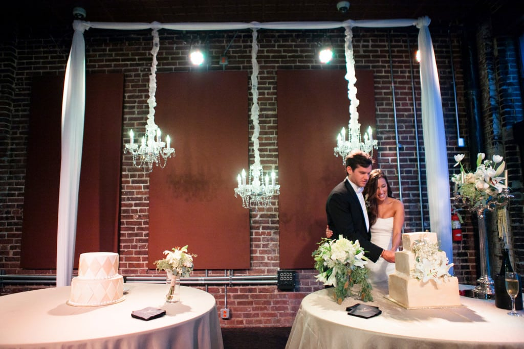 Iron City Birmingham Cutting the Cake Dupioni Linens Lighting