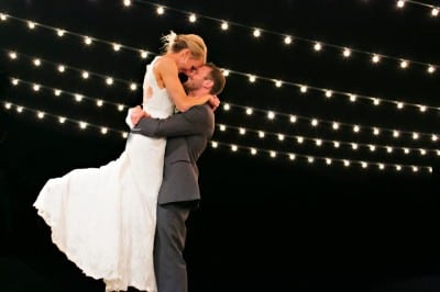 2015 wedding trends Wedding String Lights Ann Wade Photography