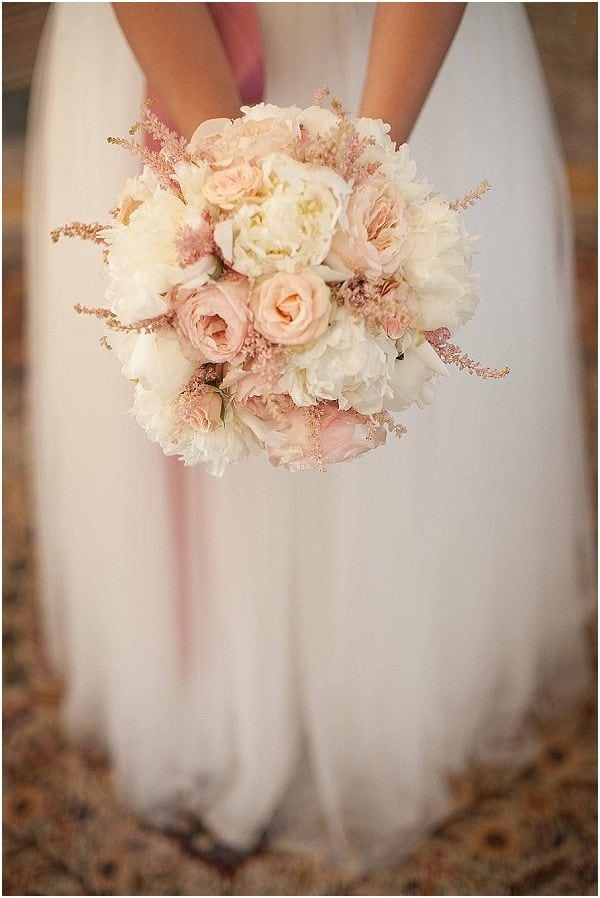2015 wedding trends Blush Wedding Flowers