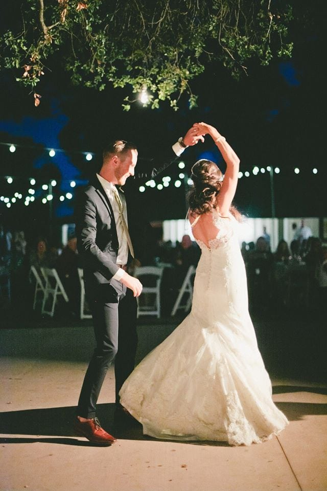 2015 wedding trends Wedding Dance at night