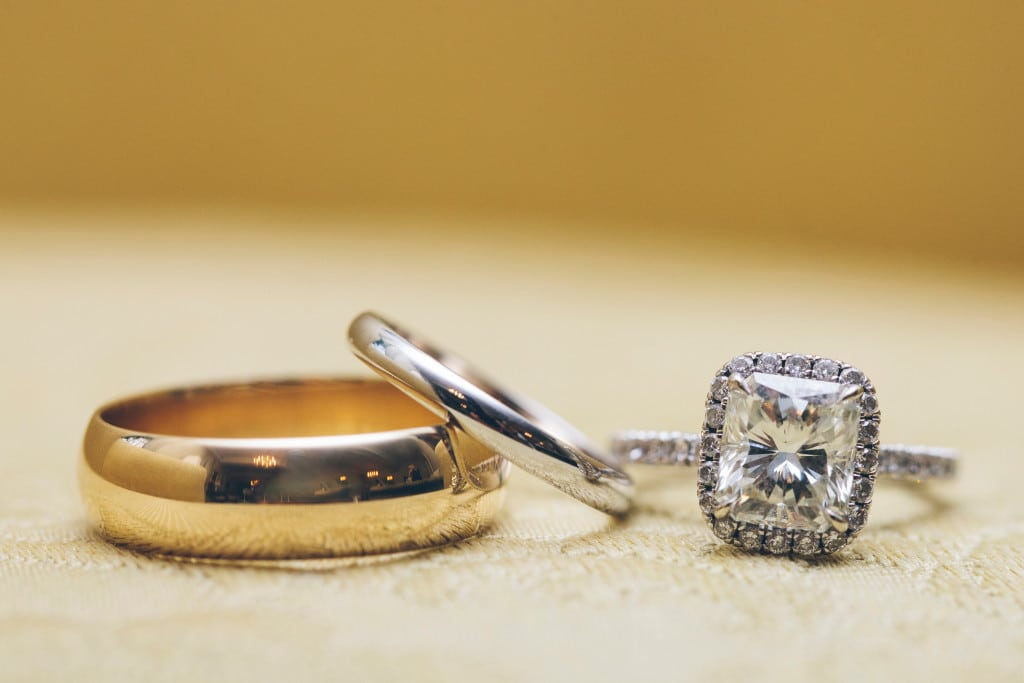 Wedding Rings Iron City Birmingham Wynter Photography