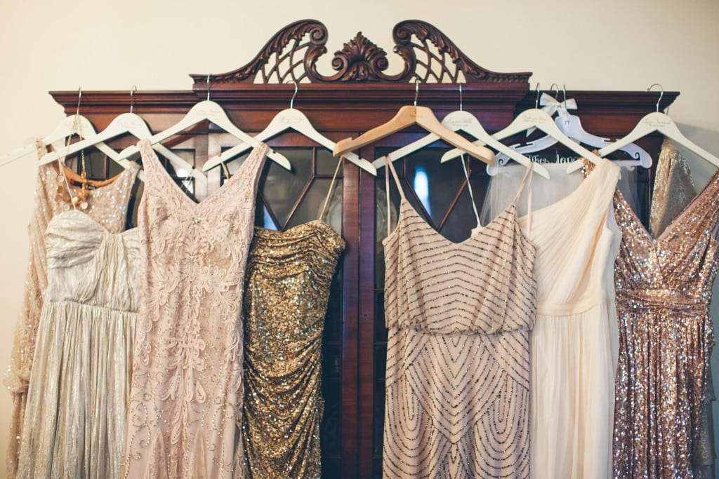 Glitter and Glam Weddings, Wynter Photography, Sequin Dresses