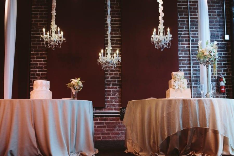 Iron City Birmingham Cake Table Dupioni