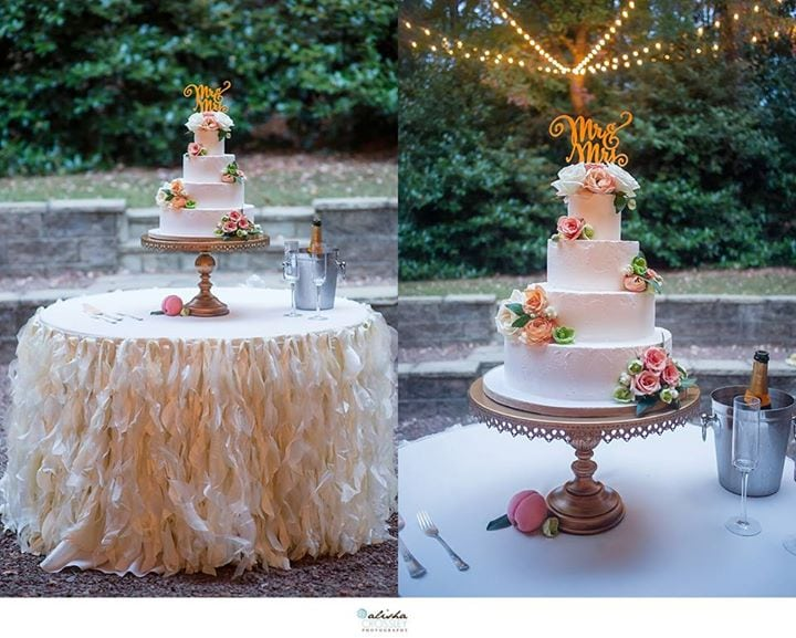 Alishia Crossley Photography Cakes by Kim Best Cakes of 2015 Willow Linen