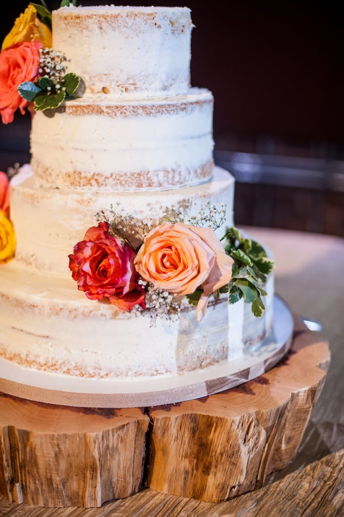 best cakes of 2015 Sweet Julep Naked Cake crinkle linen