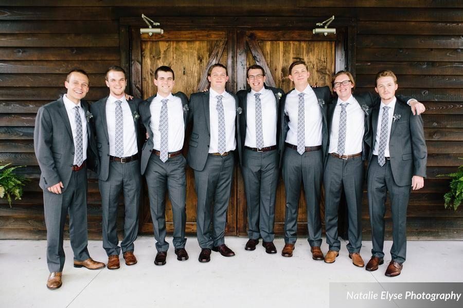 Natalie Elyse Photography best dressed groomsmen