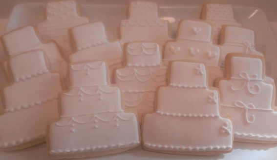 Wedding Favors Cookies by Meredith