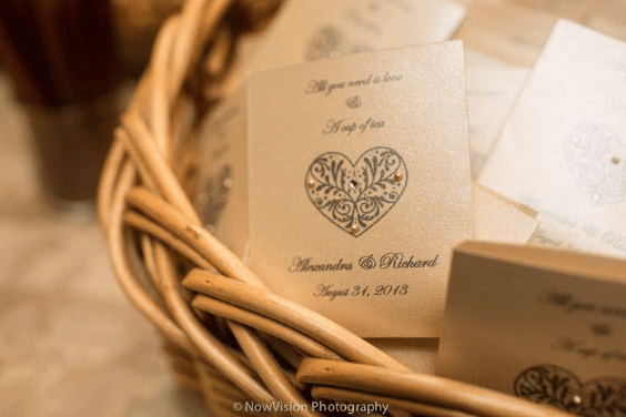 Wedding Favors Sam Jasper Photography