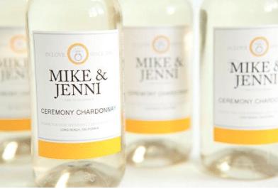 Personalized Wine Bottles