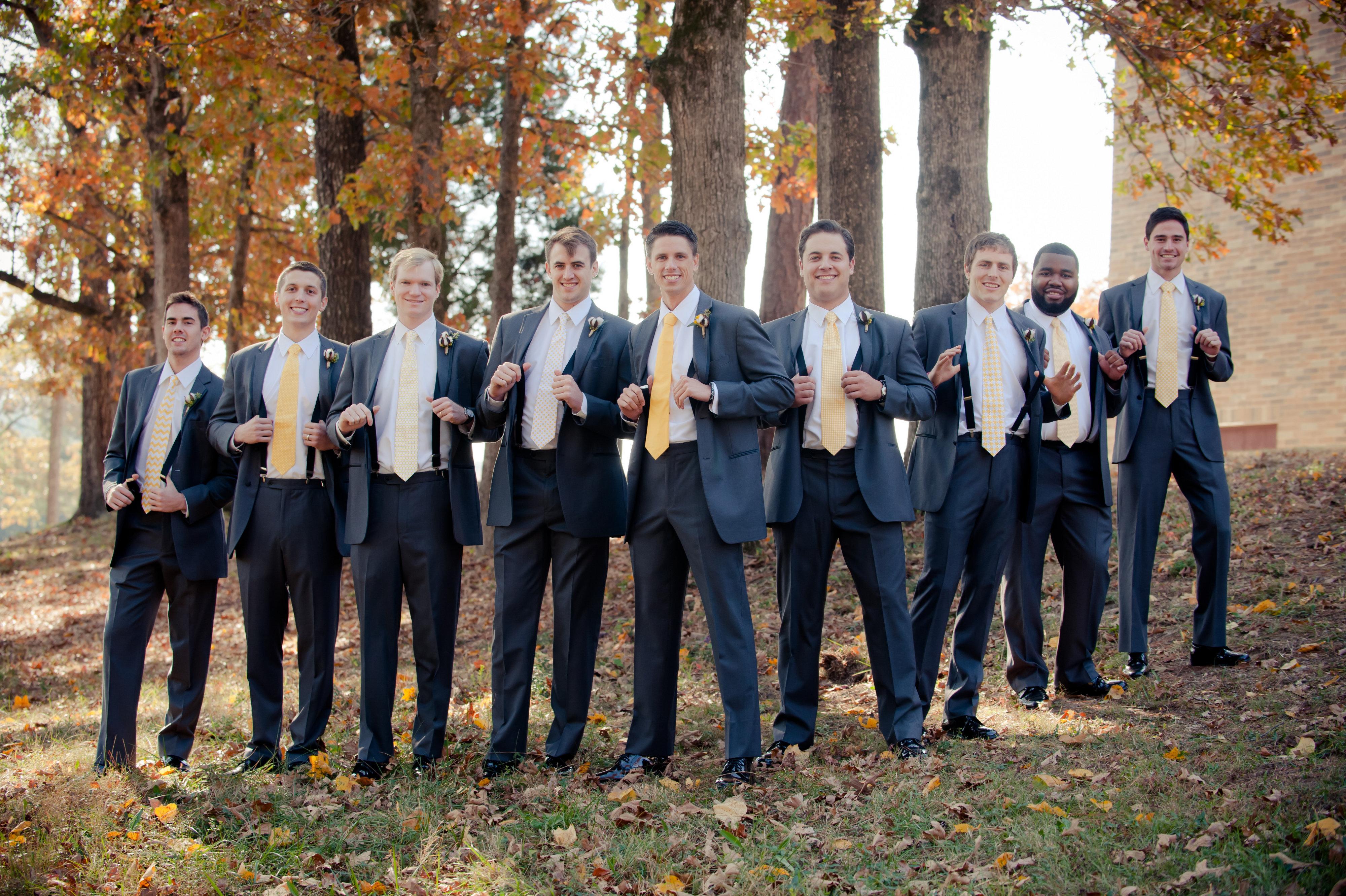 50 Groomsmen in suspender ideas - JJ Suspenders