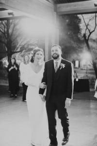 Dancing Aldridge Gardens wedding